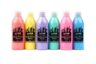 Pearlescent Ready Mixed Paint Set Compressed
