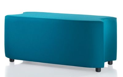E Link Upholstered Bench With Twop Cut Outs