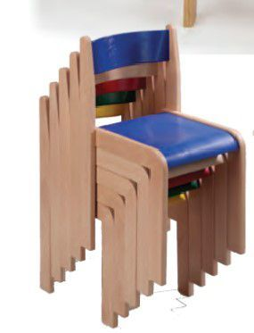 Wooden Classroom Chairs