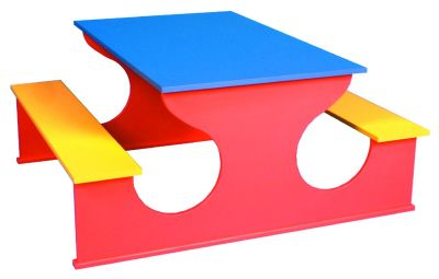 Raibow Rectangular Table