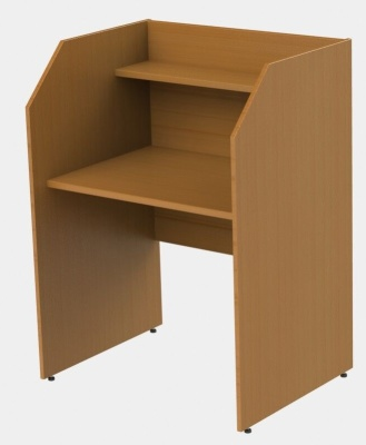 GM Panel Single Study Carrel