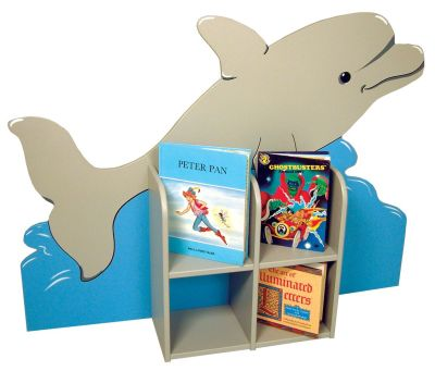 Single Sided Dolphin Bookcase