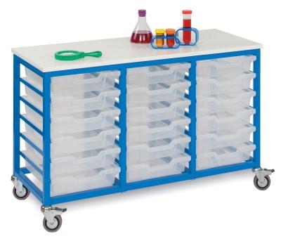 MZ 18 Shallow Tray Metal Storage