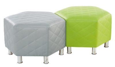 Hex Quilted Stools