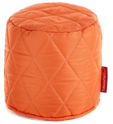 Sayu Round Stool In Orange