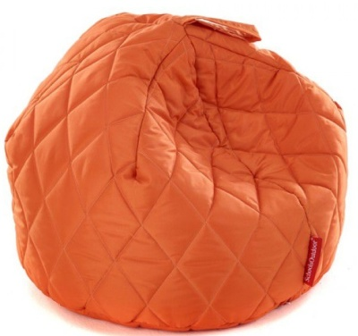 Sayu Large Quited Bean Bag Orange