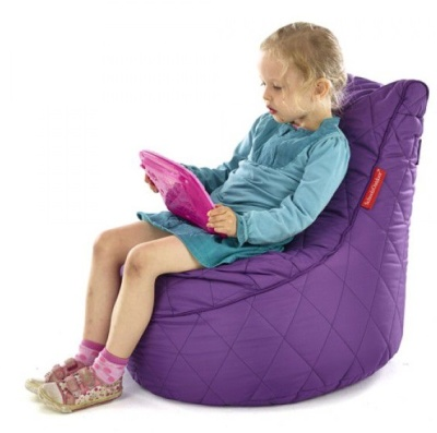 Sayu Quilted Flop Pods Purple
