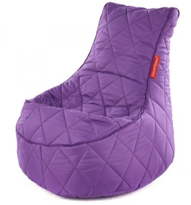 Sayu Quilted Flop Pods In Purple 2