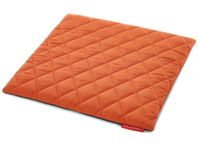 Sayu Square Mat In Orange