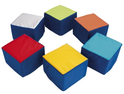 Wise Guy Cube Seating Set Of 6