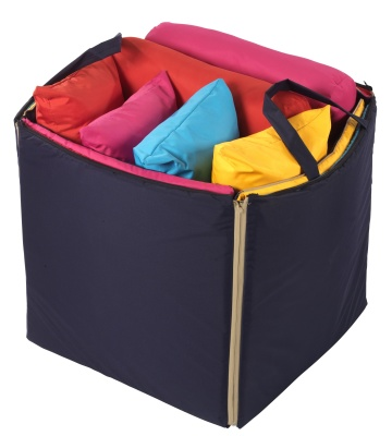 Wisde Guy Mat Bag Packed With Cushions
