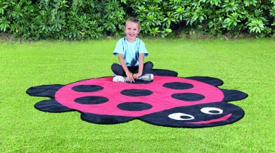 Ladybird Shaped Outdoor Playmat