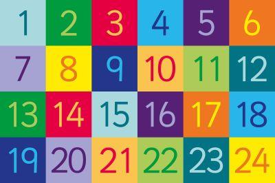 Rainbow 1 - 24 Floor Mat Graphic