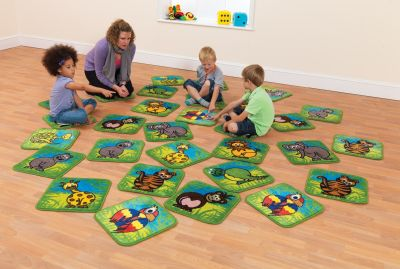 Town And Country Zoo Aninal Mini Mats 5