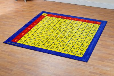 100 Square Multiplication Mat 2