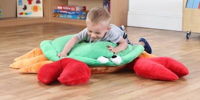 Norman The Crab Sea Cushion 3