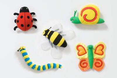 Back To Nature Bug Toys 5 Pack