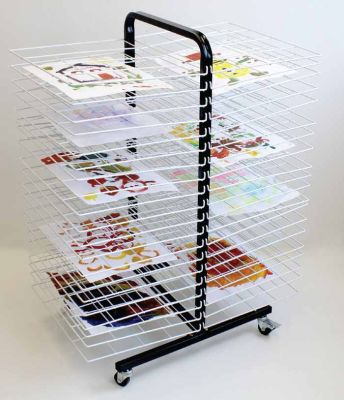 Itex Mobile 40 Shelf Drying Rack
