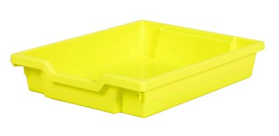 Gratnell Shallow Tray Yellow
