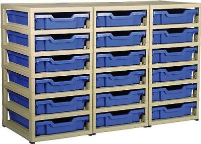 Grat Stack 3 Column Storage With 18 Trays
