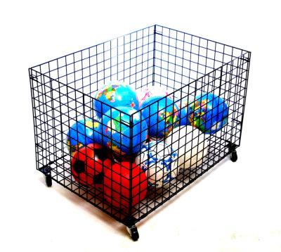 Giant Mobile Gym Storage Basket