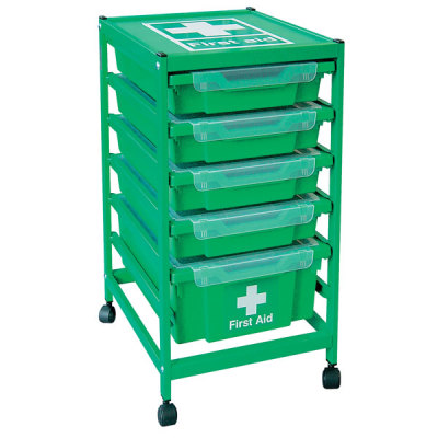 Gratnells First Aid Trolley