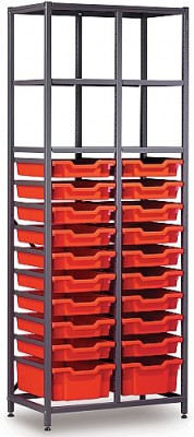 Gratnells Storage Rack With 20 Trays