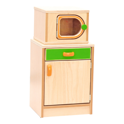 Cupboard With Microwave