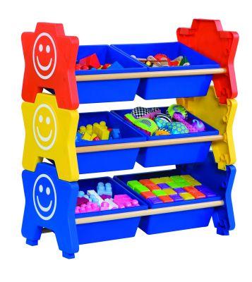 Happy Stack Treble Multi Colour