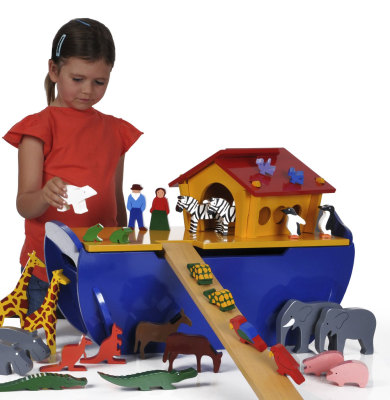 Large Hoahs Ark Play Set