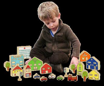 ELS Village Wooden Set