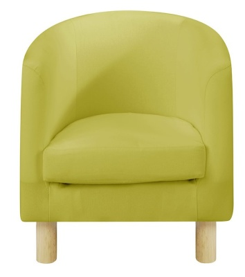 JK Plain Green Tub Chairs