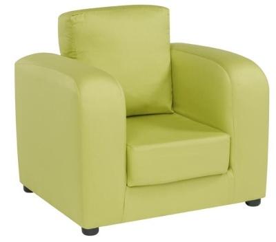 JK Plain Green Armchair