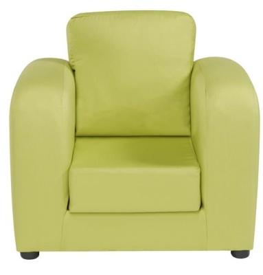 JK Plain Green Armchair 2