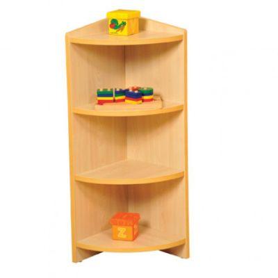 Viela Nature Space Corner Cabinet- High