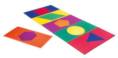 Active Colour Shape Mats 1