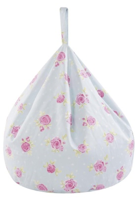 Country Flowers Bean Bag