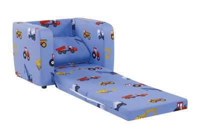 Chair Bed - Toy Trucks2