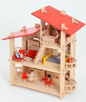 J4 Villa Style Dolls House 2