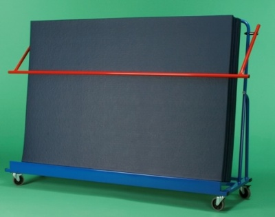 Inclined Vertycal Mat Trolley 2