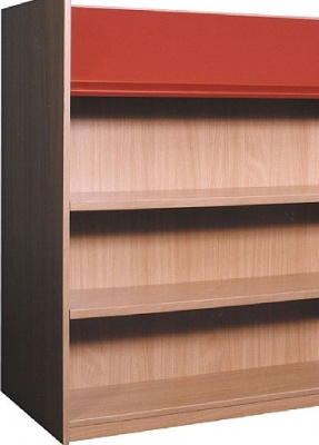 Nexus Double Sided Add On Bookcase With Diaplay Shalf