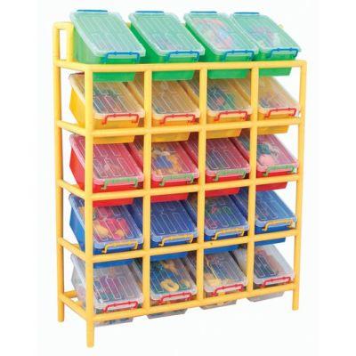 20 Bin Tilt Storage Unit