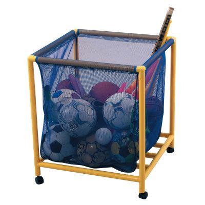 Mobile Plastic Ball Storage Trolley