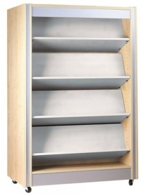 Spectrum Double Sixded Shelving With Recersible Shelves