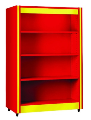 Spectrum Double Sided Shelving With Flat Shelves
