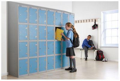 Combination Trespa Lockers School