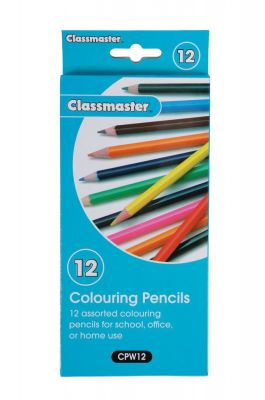 Classmaster Colouring Pencils 12 Pack