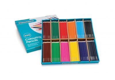 Classmaster Colouring Pencils 500 Pack