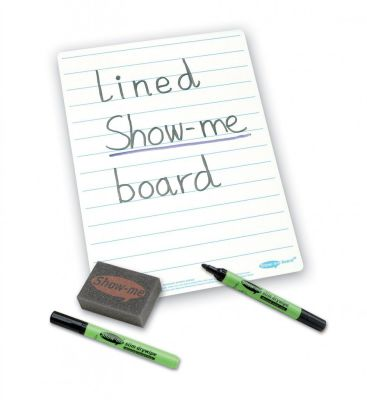 Show Me SUPERTOUGH Lined Drywipe Board