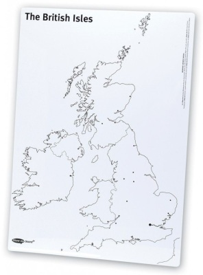 Show Me Map A4 Drywipe Board